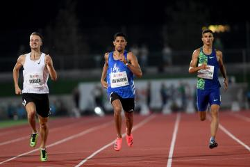 Olympic hopeful Van Niekerk finds form with 200m win