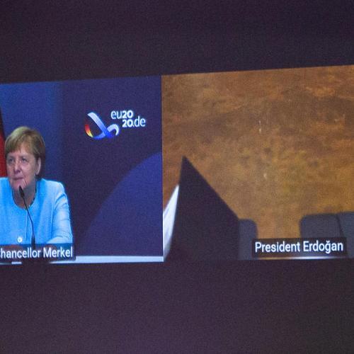 Turkey's Erdogan, Germany's Merkel hold video call