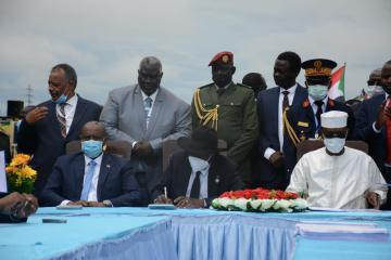 Sudan and rebel group sign agreement on separation of religion and state
