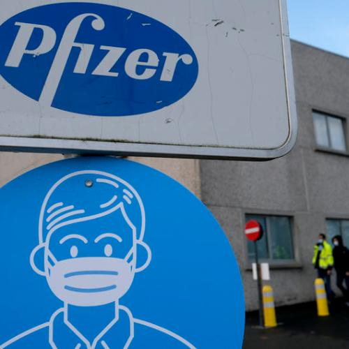 Study suggests that the Pfizer vaccine is less effective against the South African variant