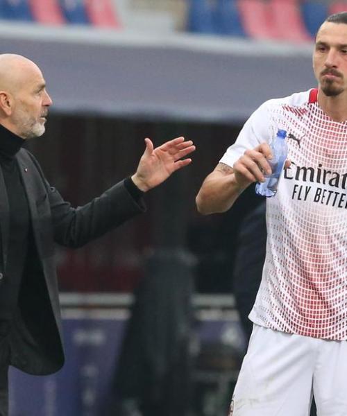 Injured Ibrahimovic will miss Milan trip to Liverpool – Pioli
