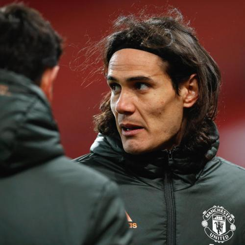 Man Utd's Cavani, Martial set for return against AC Milan