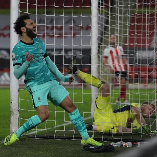 Liverpool beat Sheffield Utd 2-0 to snap losing streak