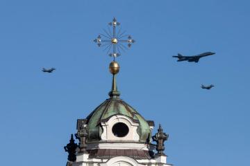 Photo Story: US strategic bomber training flight in Lithuania