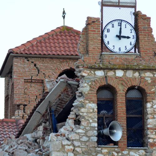 Photo Story: The aftermath of Wednesday's earthquake in Greece