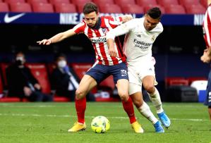 Pressure on stuttering Atletico as rivals Real close gap in title race