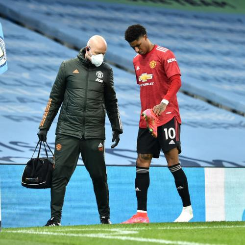 Man Utd's Rashford out for Milan tie, Cavani doubtful says Solskjaer