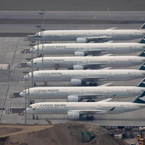 Cathay Pacific posts record $2.8 bln annual loss