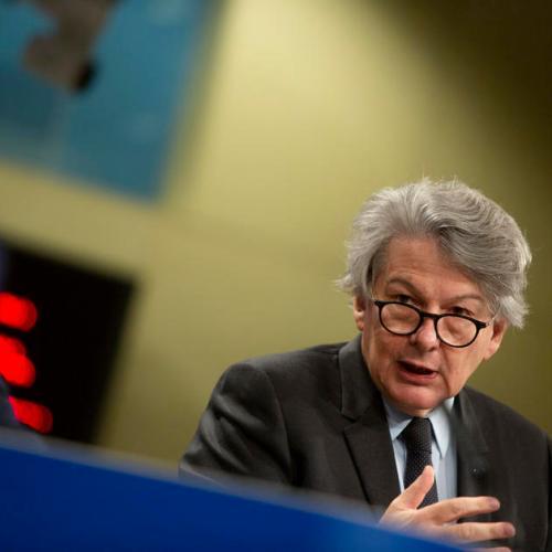 EU's Breton says Pfizer can help offset AstraZeneca vaccine delays