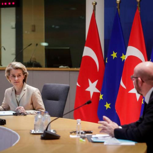 EU leaders make good on trade promises with Turkey, but threaten sanctions
