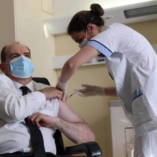 French PM takes AstraZeneca vaccine