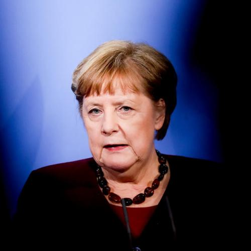 Merkel implores Germans to back Laschet at election to succeed her