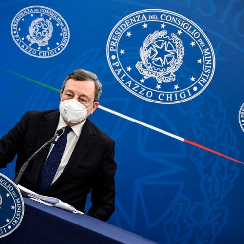 Appeal against vaccination an appeal to die says Draghi