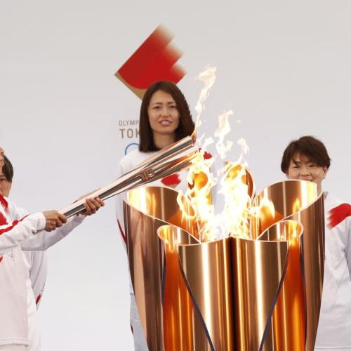 Olympic Torch Relay Gets Going Under Pandemic Shadow