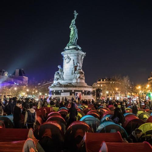 Photo Story – 'Night of Solidarity' at Place de la Republique, Paris
