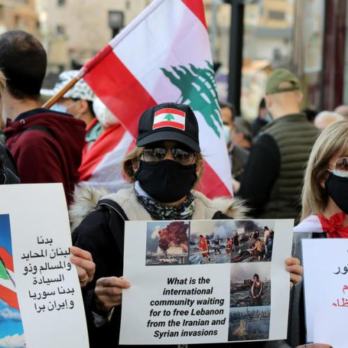 France says EU to raise pressure on Lebanese officials