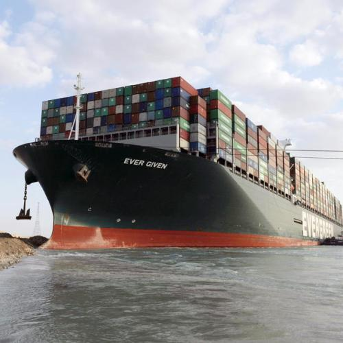 UPDATE – Huge ship blocking Suez Canal partially re-floated, more work needed