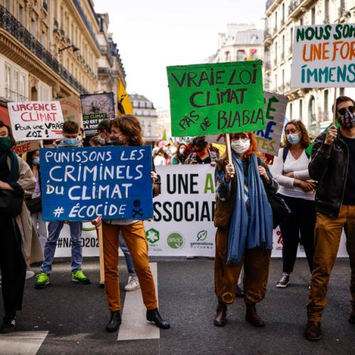 Photo Story – Climate rally in Paris
