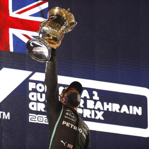 Hamilton wins nail-biting Bahrain Grand Prix Season Opener