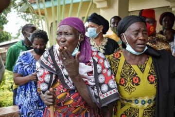 Photo Story – Funeral of Sarah Onyango Obama, former US president Barack Obama's step grandmother