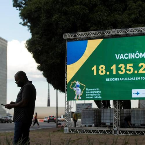 Brazil detects new coronavirus variant