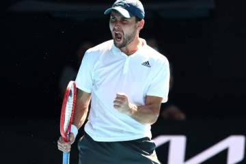 Russia's Karatsev stuns Djokovic to reach Serbia Open final