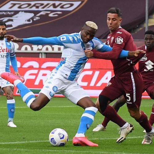 Napoli bolster CL chances with Torino win