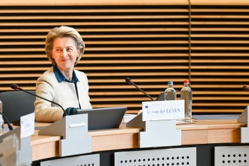 European Commission head Von der Leyen welcomes Portugal's economic recovery plan