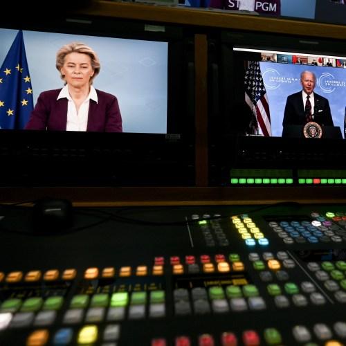 Ursula von der Leyen meets U.S. President Biden at Leaders Climate Summit