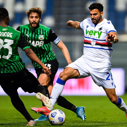 Berardi overhead inspires in-form Sassuolo to Sampdoria win