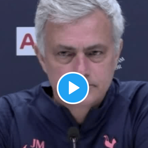 Mourinho halts news conference to express condolences to British royal family