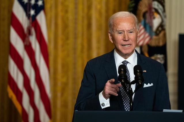 The first Biden season