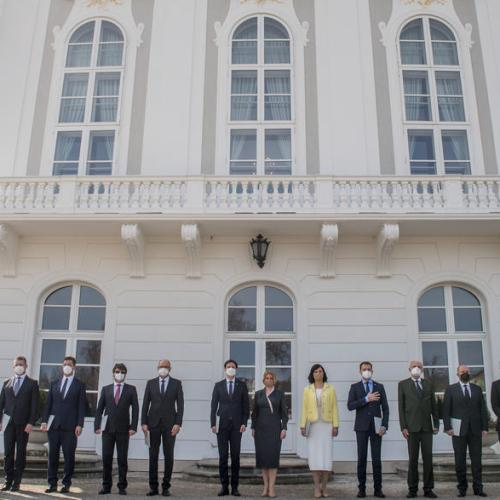 Photo Story: New Slovak government sworn in