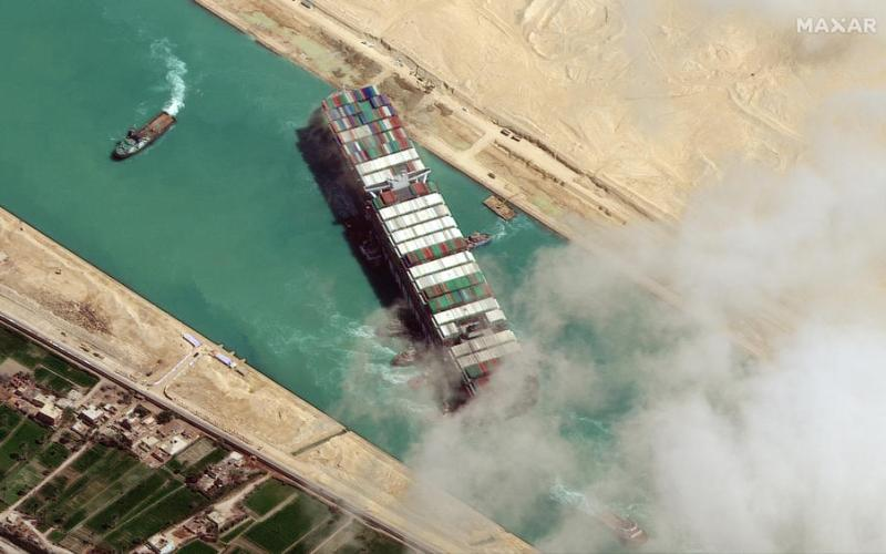Evergreen studying scope of Egypt $916 mln court order  over Suez ship