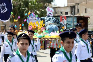 Photo Story: Easter Sunday in Damascus