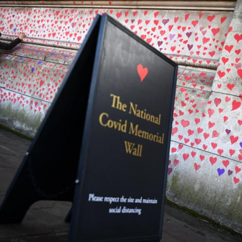 Bereaved call for UK Covid memorial to be preserved