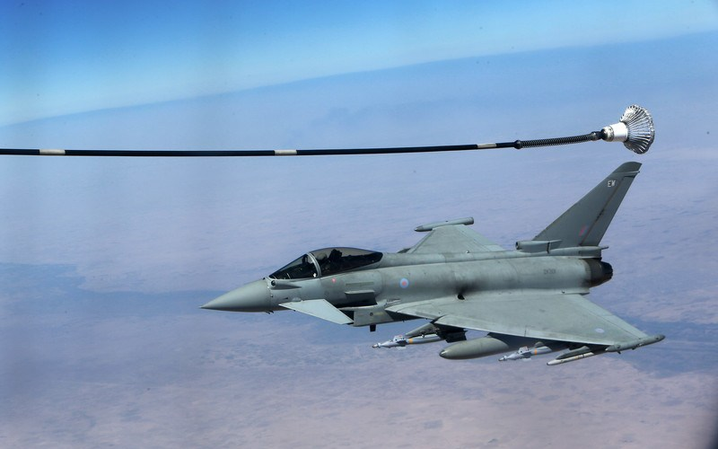 Britain carried out several air strikes against ISIS in northern Iraq