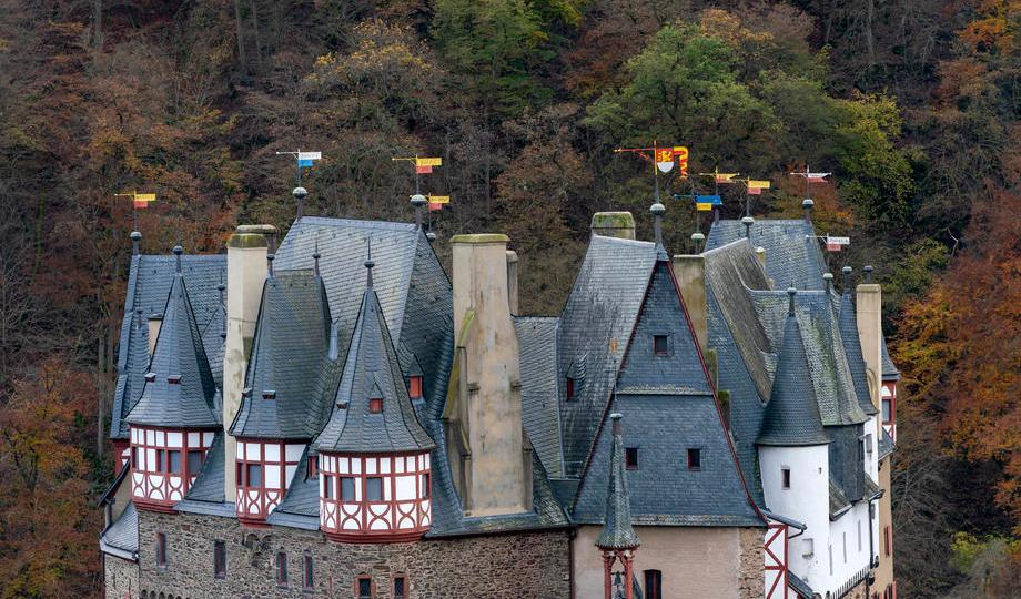 EPA's Eye in the Sky: Eltz Castle, Mueden, Germany