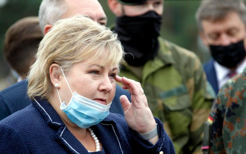 Norway prime minister fined for breaking COVID-19 social distancing rules