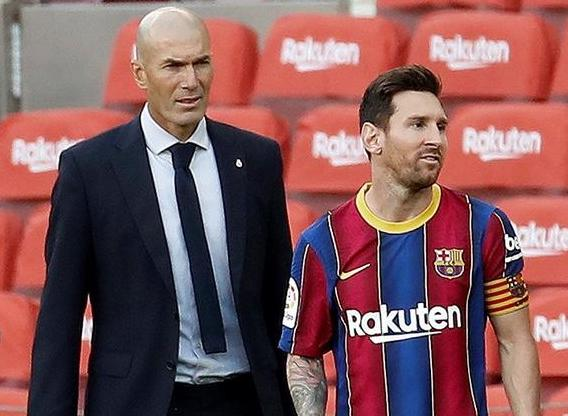 Zidane hopes Saturday not the end of Messi's Clasico career