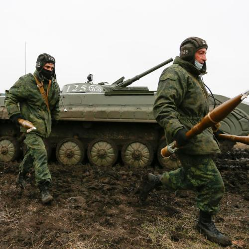 UK says it is gravely concerned about Russian military activity threatening Ukraine