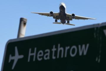 UK'sHeathrowAirport flags tepid travel recovery until 2026