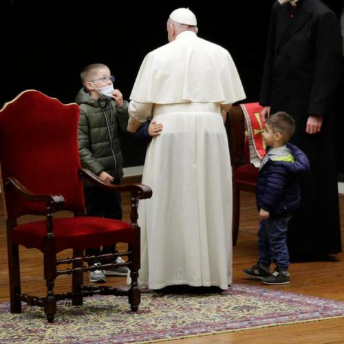 Children's hope and pains at the centre of Pope's Via Crucis