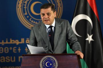 Abu Dhabi crown prince discusses economic relations with new Libya prime minister