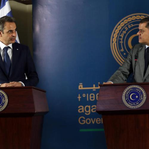 Greece restores diplomatic relations with Libya