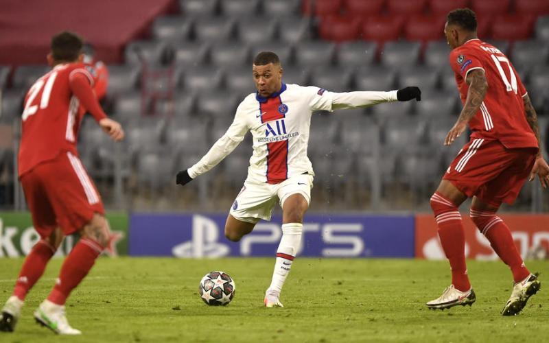 Mbappe double stuns Bayern in Munich