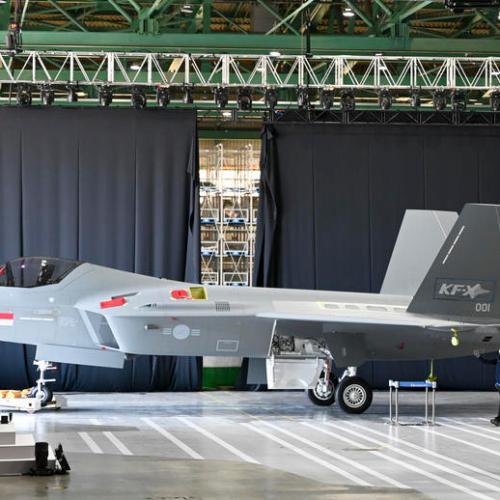 South Korea unveils prototype of KF-X fighter jet