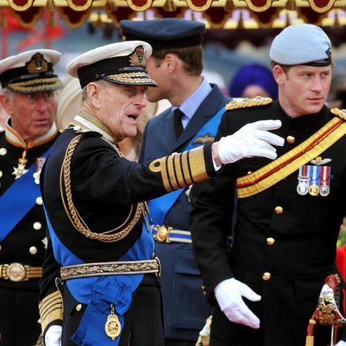 Prince Harry praises Philip for 'dedication to Granny'