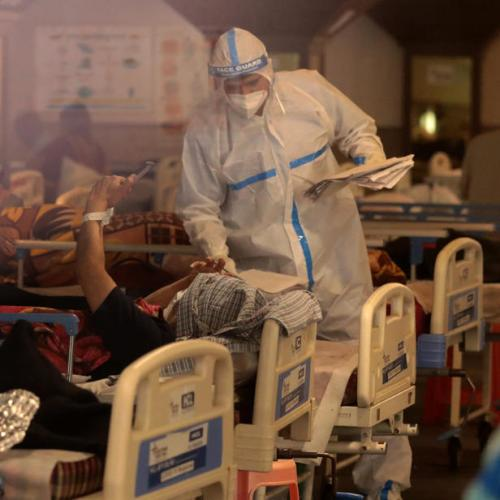 India's capital Delhi faces hospital beds shortage as coronavirus cases surge