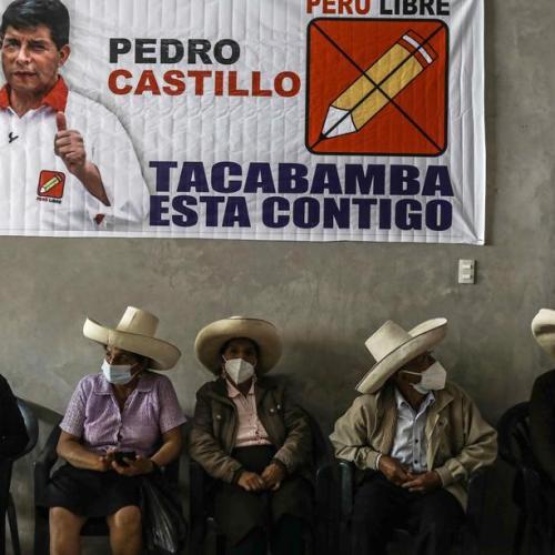 Peru pollster puts socialist Castillo ahead going into June run-off